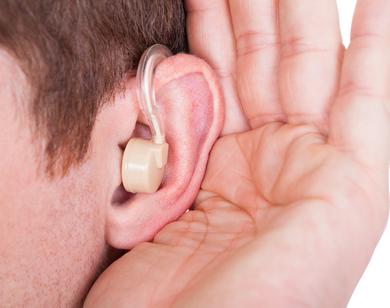 Заушные слуховой аппарат-1